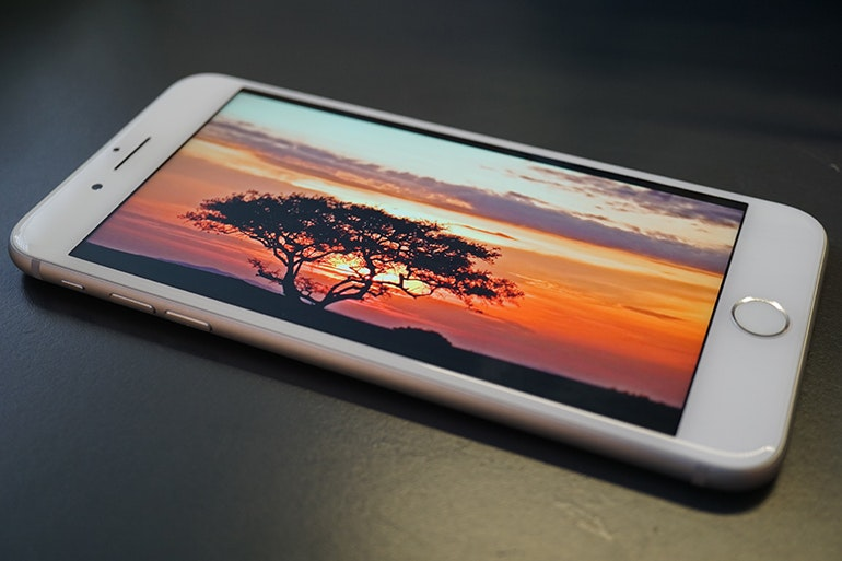 iPhone 7 Plus screen