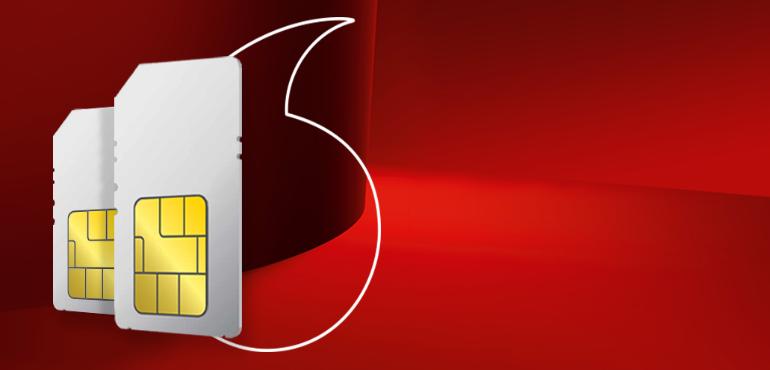 Vodafone SIM hero