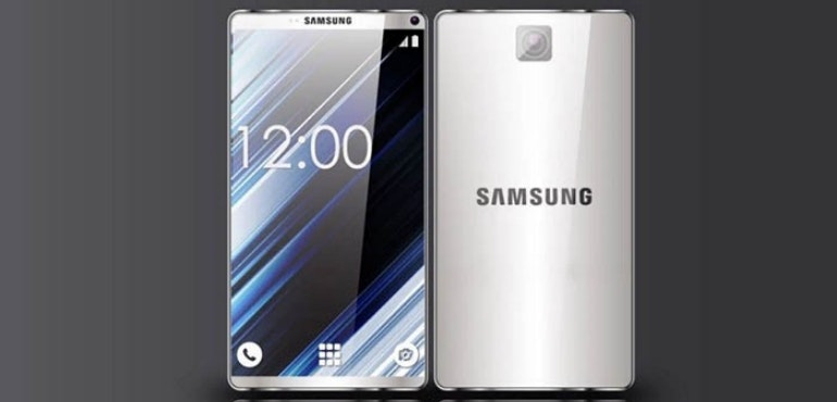 Samsung s8 concept hero image