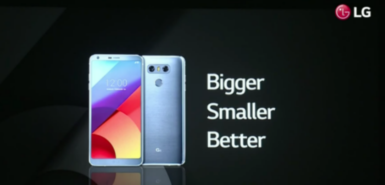 LG G6 officially unveiled with neat multi-tasking and dual lens camera