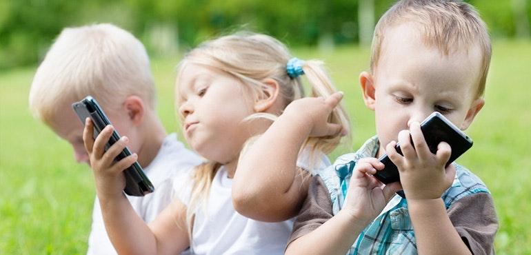 Mobile phone for children