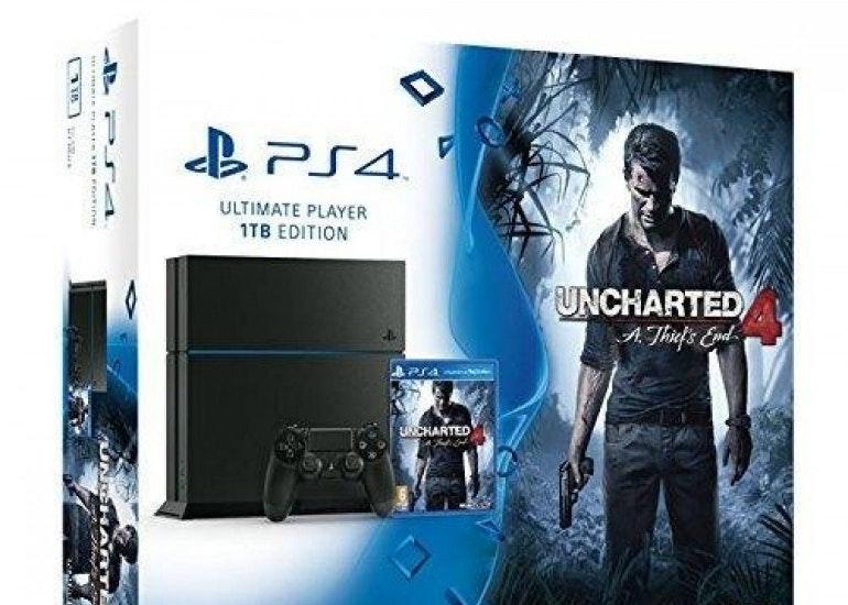 PS4 uncharted bundle