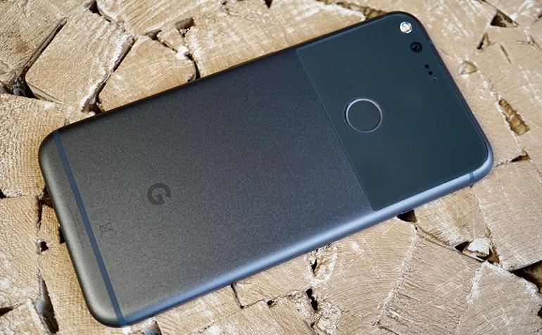 google pixel resting back