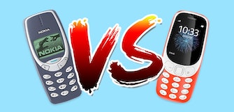 New Nokia 3310 Vs  old Nokia 3310: what's the difference?