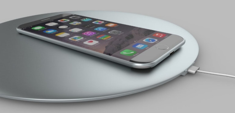 iphone 7 wireless charging concept