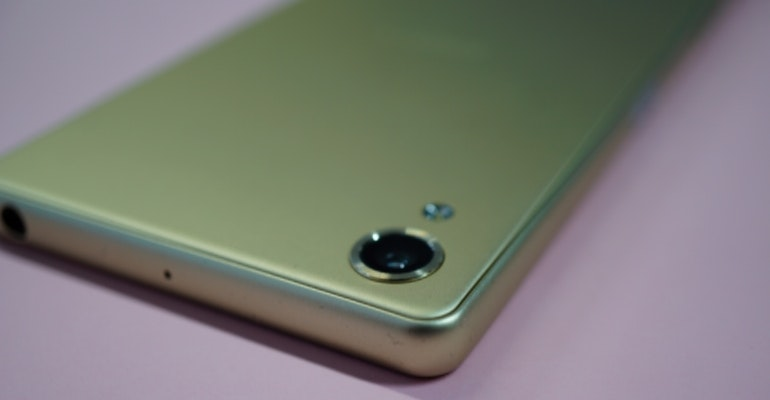 sony xperia x camera detail