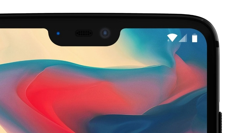 OnePlus 6 concept notch close-up
