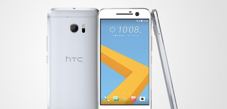 HTC 10 official silver