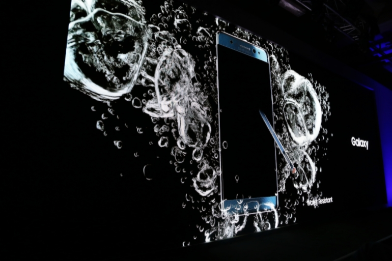 Samsung Galaxy Note 7 launch waterproof