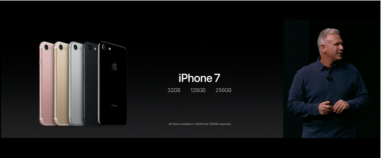 iPhone 7 storage
