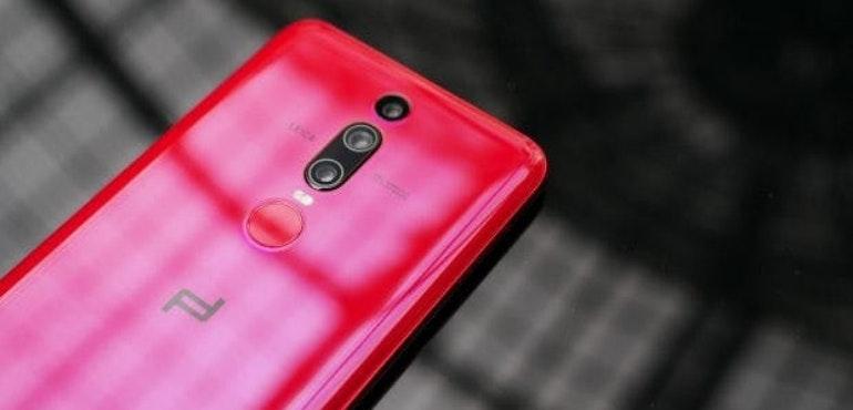 Huawei Mate RS back fingerprint scanner and camera lenses