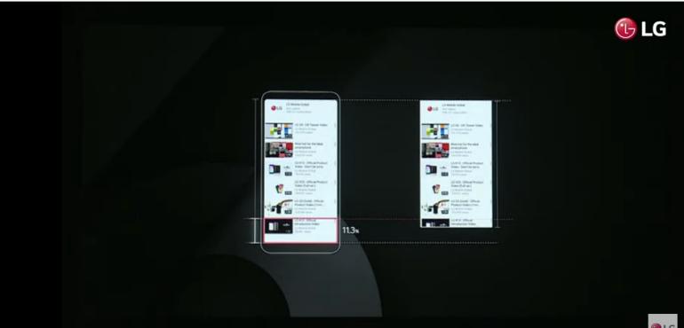 LG G6 screen size