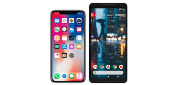 Google Pixel 2XL vs iPhone X: How they match up