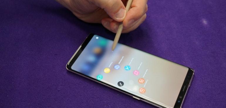 Samsung Galaxy Note 8 S-Pen Stylus wheel