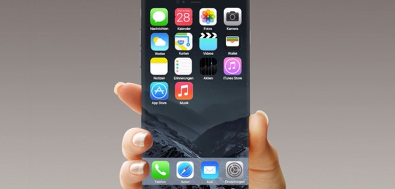 iphone 7 curved concept