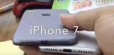 iPhone 7 appears in new video