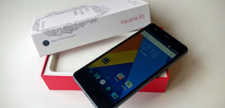 BQ Aquaris X5 hands on review