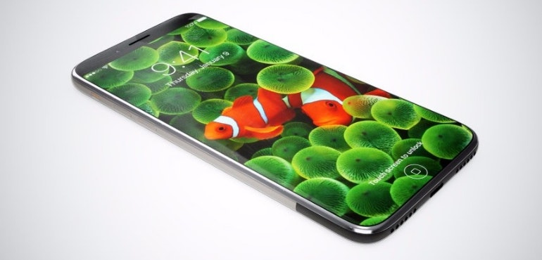 iPhone 8 concept hero image all-screen fish