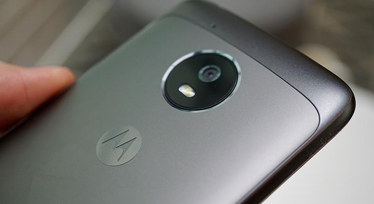 Motorola Moto G5 camera