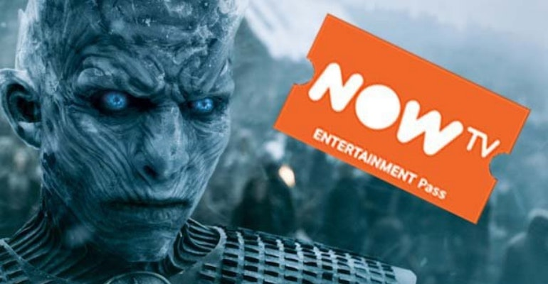 Now TV Entertainment pass Game of Thrones