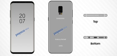 Samsung Galaxy Note 8 appears in new leak